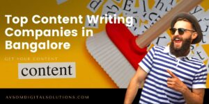 Top Content Writing Companies in Bangalore